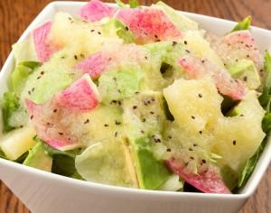 アボガドとパイナップルの酵素サラダ